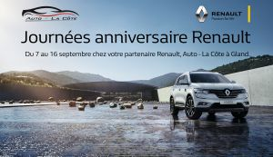 Promotions Renault