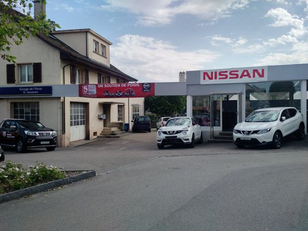 NISSAN Drop Off Point
