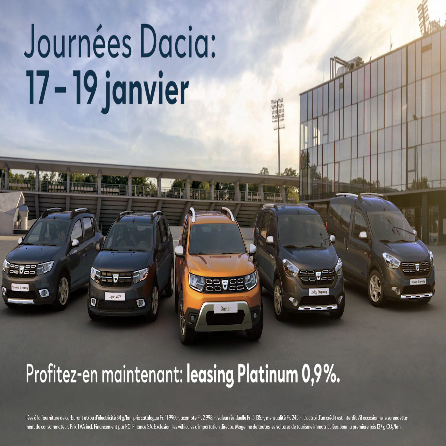 Promotions Dacia